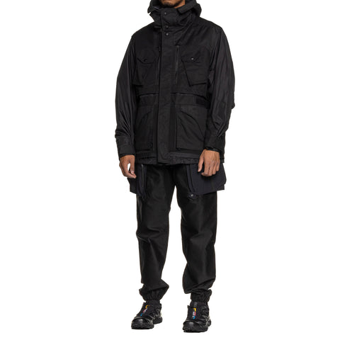White Mountaineering GORE-TEX® INFINIUM Double Layer Mountain Parka Black, Outerwear