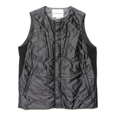 White Mountaineering Gore Tex Infinium x Primaloft Padded Vest Charcoal, Vests