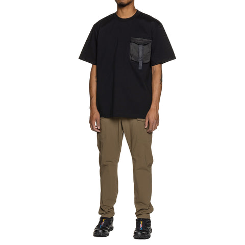 White Mountaineering Hunting Pocket T-shirt Black, T-Shirts
