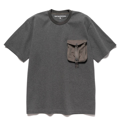 White Mountaineering Hunting Pocket T-shirt Charcoal, T-Shirts