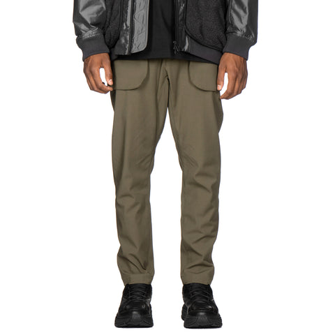 White Mountaineering Stretch Tapered Pants Khaki, Bottoms