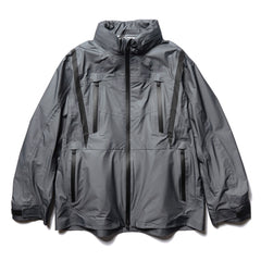 White Mountaineering GORE-TEX® Stand Collar Jacket Charcoal, Outerwear