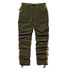 White Mountaineering Stretched Shirring Cargo Pants Khaki, Bottoms