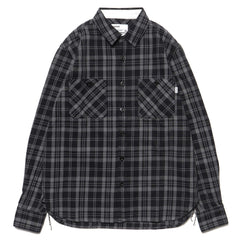 haven Flannel Woodland Shirt Black