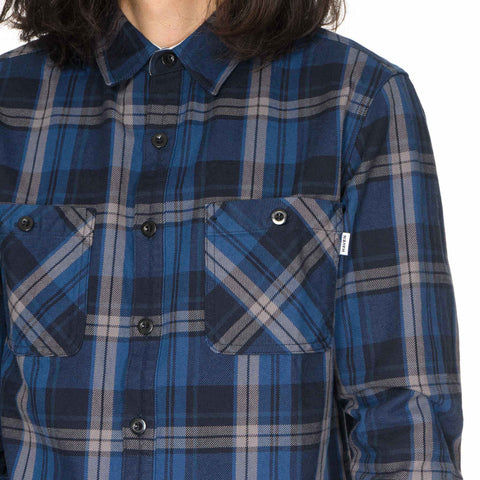 haven Flannel Woodland Shirt Navy