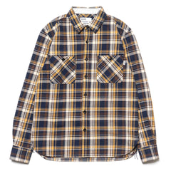 haven Flannel Woodland Shirt Yellow