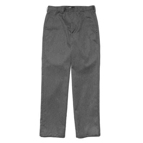 HAVEN Work Pant - Polyester Cotton Twill Gray, Bottoms