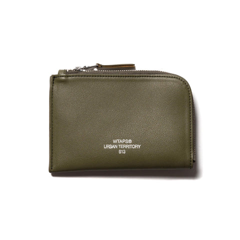WTAPS Cream M / Case. Synthetic Leather Olive Drab, Accessories