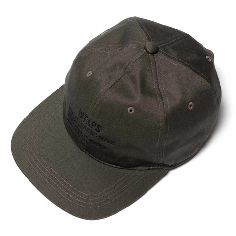 WTAPS T-6H 02 / Cap. Cotton. Twill Gray, Headwear