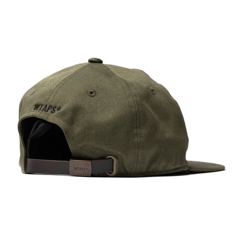 WTAPS T-6H 02 / Cap. Cotton. Twill Olive Drab, Headwear