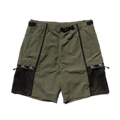 WTAPS Tracks Shorts / Shorts. Nylon. Tussah. Supplex Olive Drab, Bottoms