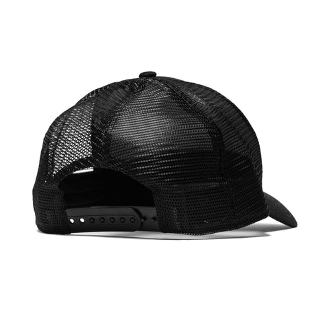 HAVEN x NEW ERA Trucker Hat - Gothic H Black/Black
