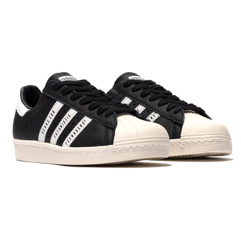adidas Consortium x Human Made Superstar 80s Black/White, Footwear