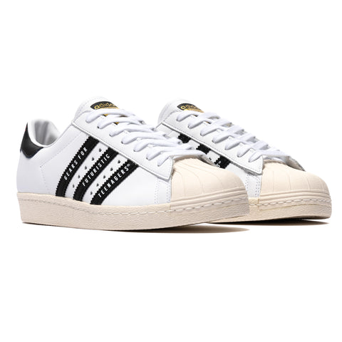adidas Consortium x Human Made Superstar 80s White/Black, Footwear