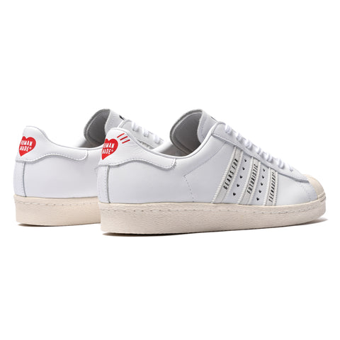 x Human Made Superstar 80s White/White – HAVEN