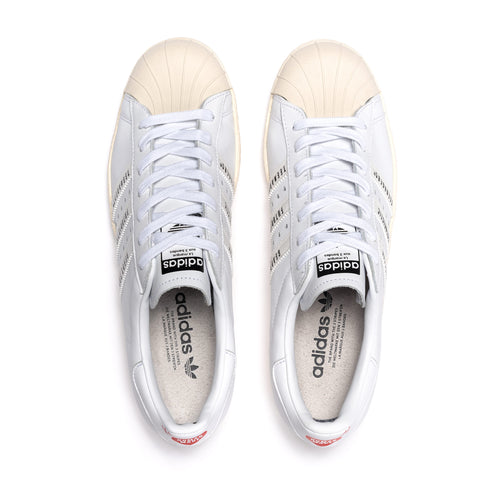 adidas x Human Made Superstar 80s White/White, Footwear