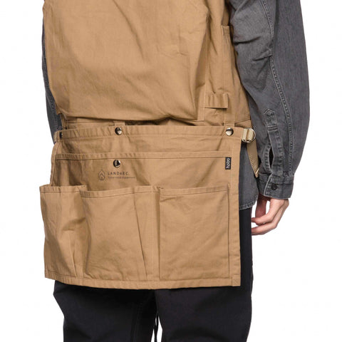 hobo Cotton Twill Gardener Apron by Land and B.C. Beige, Home Goods