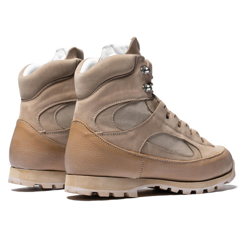 nonnative Alpinist Boots Cow Leather Beige, Footwear