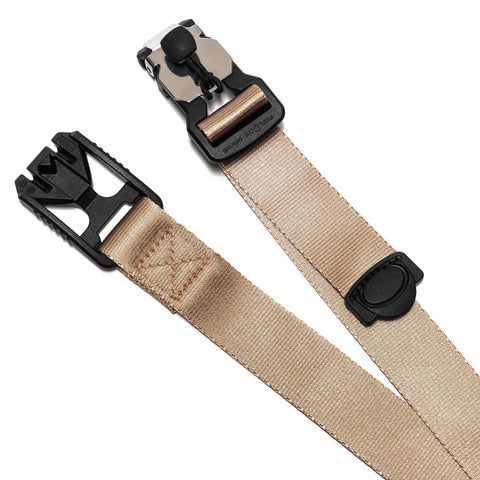 nonnative Alpinist Tape Belt Nylon Tape With Fidlock Buckle Beige, Belts