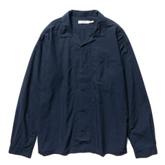 nonnative Bowler Shirt Cotton Typewriter Navy, Shirts