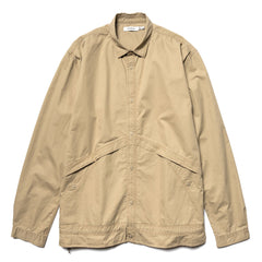 nonnative Coach Shirt Jacket Cotton Twill VW Beige, Outerwear