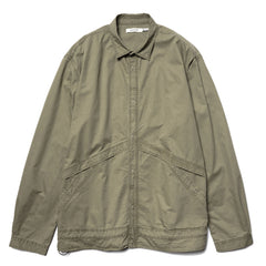 nonnative Coach Shirt Jacket Cotton Twill VW Olive, Outerwear