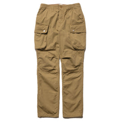 nonnative Commander 6P Trousers Relaxed Fit Cotton Ripstop Beige, Bottoms