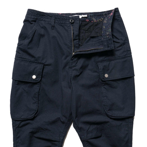 nonnative Commander 6P Trousers Relaxed Fit Cotton Ripstop Navy, Bottoms