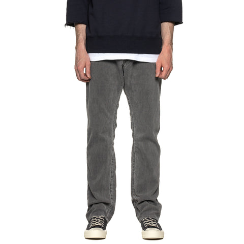 nonnative Dweller 5P Jeans Usual Fit C/P Cord Gray, Bottoms