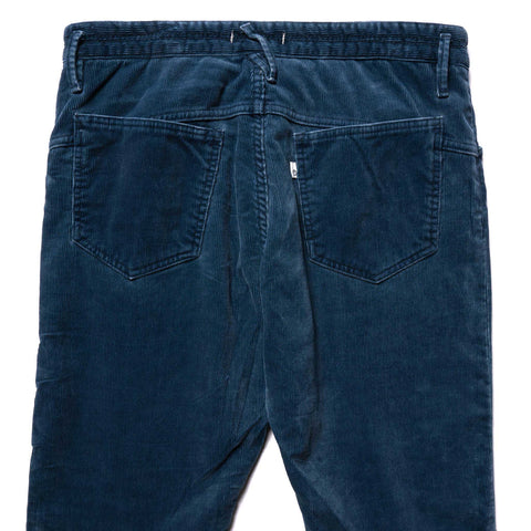 nonnative Dweller 5P Jeans Usual Fit C/P Cord Navy, Bottoms