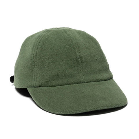 nonnative Dweller 6P Cap Poly Fleece Polartec Olive, Headwear