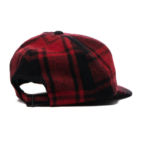 nonnative Dweller 6p Cap W/P/A/N Buffalo Plaid Red