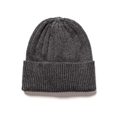 nonnative Dweller Beanie NZ W/C Yarn Charcoal, Headwear