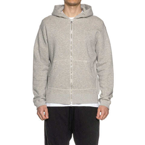 nonnative Dweller Full Zip Hoody Cotton Sweat H. Gray, Sweaters