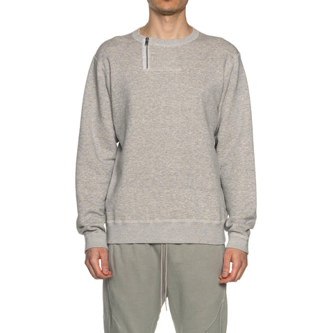 nonnative Dweller Half Zip Crew Cotton Sweat H.Gray, Sweaters