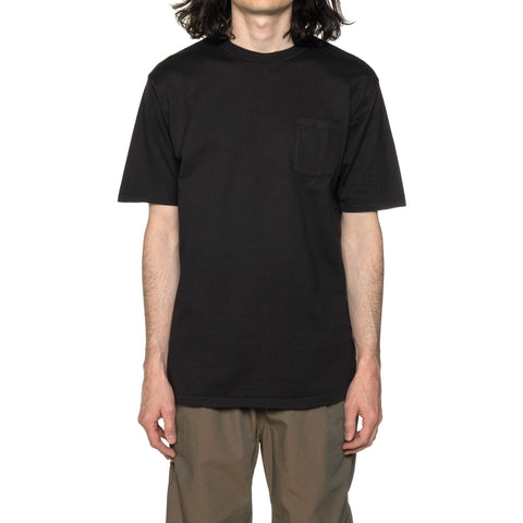 nonnative Dweller S/S Tee Cotton Jersey Overdyed Black, T-Shirts
