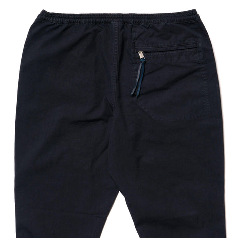 nonnative Educator Easy Rib Pants Cotton Oxford Overdyed Navy, Bottoms