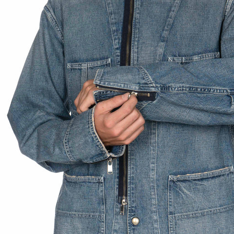 nonnative Feller Blouson Cotton 9.5 oz NEP Denim VW Indigo