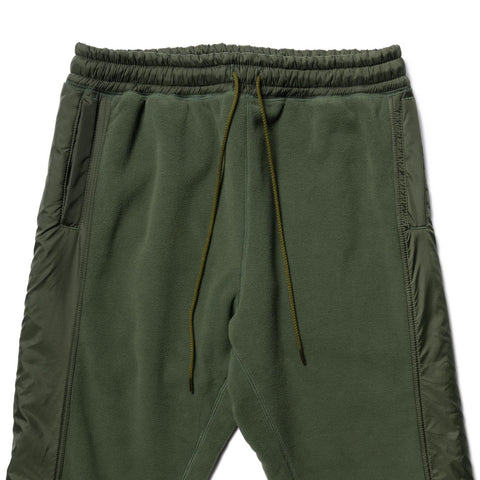 nonnative Hiker Easy Rib Pants Poly Fleece Polartec Olive, Bottoms