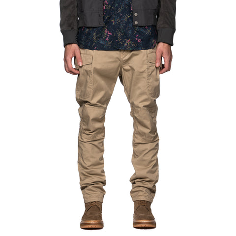 nonnative Hunter 6P Trousers Relaxed Fit C/L Twill Beige, Bottoms