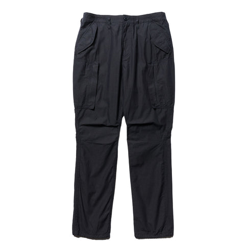 nonnative Trooper 6P Trousers Relaxed Fit Cotton Ripstop Navy, Bottoms