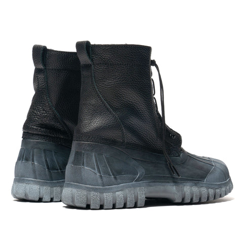 nonnative Worker Duck Boots Cow Leather Black, Footwear