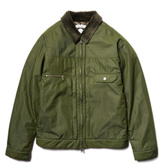 nonnative Worker Puff Blouson C/N Tussah with Gore-Tex Infinium Olive, Outerwear