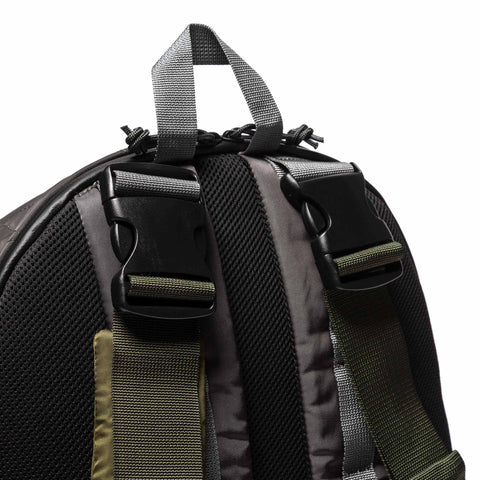 sacai x PORTER Color Combo Nylon Rucksack Gray x Khaki, Accessories