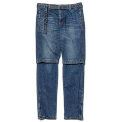 sacai Denim Pants Blue, Bottoms