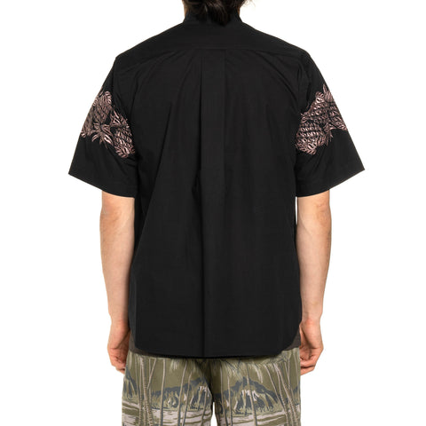 Sacai Sun Surf / Pineapple Shirt Black, Shirts