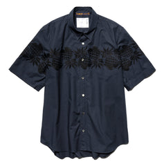 Sacai Sun Surf / Pineapple Shirt Navy, Shirts