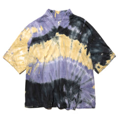 Sasquatchfabrix. Tye-Dye WA-Neck H/S Tee Purple Black, T-Shirts