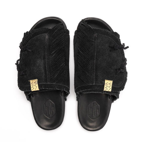visvim Christo Shaman-Folk Black, Footwear
