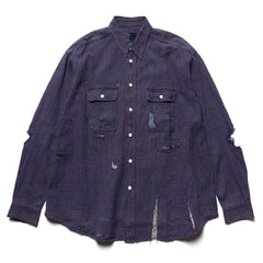 visvim I.C.T. Grand River L/S Crash, Shirts